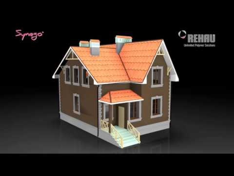 3D video animation/3D presentation for PVC window system