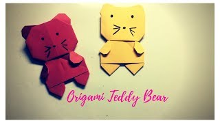 How to Make an Origami Teddy Bear! - Instructables | 180x320