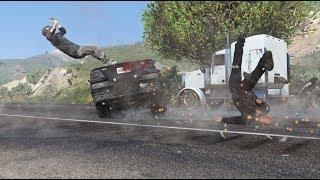 GTA V: Reckless #53] Rollover CRASHES RETURN