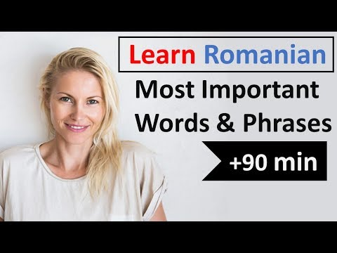 Romanian Most Common Vocabulary   600 Words   Easy conversation
