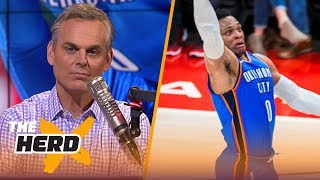 Colin Cowherd on Russell Westbrook needing knee surgery | NBA | THE HERD