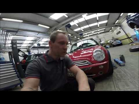 Mini Cooper LH Driveshaft Replacement