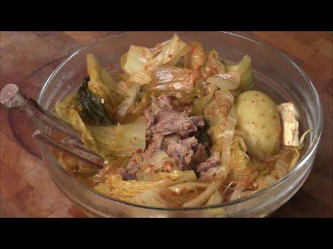 Homemade Pork Bone Vegetable Soup