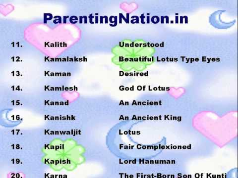 Mithun Rashi Boy Names With Meanings