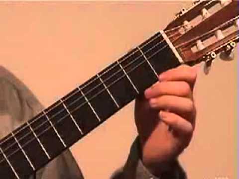 Classical Lesson 1 Malaguena Part 1