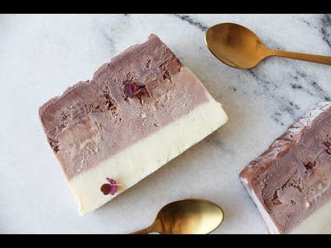 How To Make Triple Chocolate Fudge Ice Cream (No Machine) - By One Kitchen Episode 559