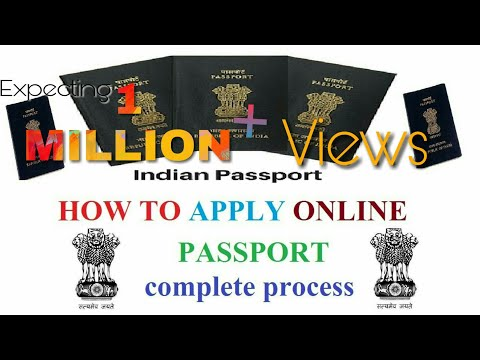 HOW TO APPLY PASSPORT ONLINE FOR CHILD/MINOR (INDIAN) IN 2018-STEP BY STEP PROCEDURE
