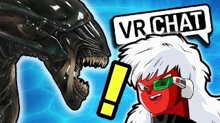VRChat: Alien Attack! - Steam Train