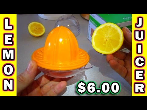 Lemon Juicer Hand Operated Manual Citrus orange progressive prepworks juice