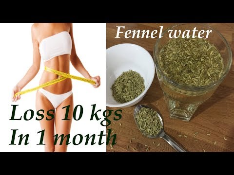 weight loss recipe, fennel detox water for weight loss,fast inch loss with fennel water,fast weight