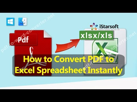 How to Convert PDF to Excel Spreadsheet Instantly