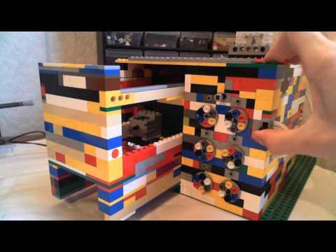 Lego Safe combination lock (working)