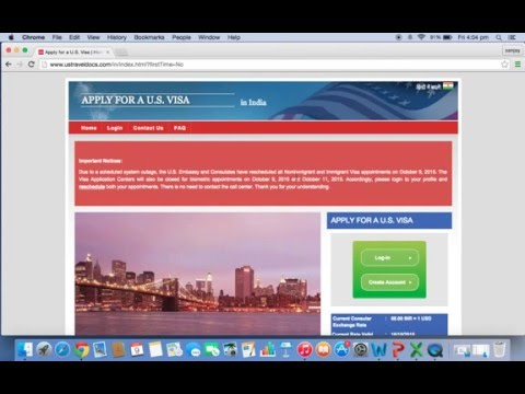 US Student Visa (F1) Appointment