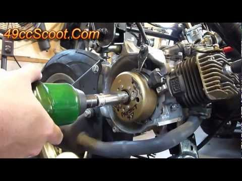Scooter Flywheel Removal With The Proper Tools (Flywheel Puller)