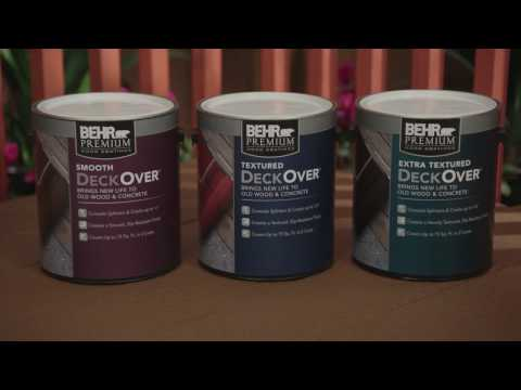 BEHR Stain & Finish Project How To's: Decks