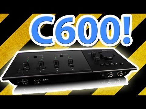 M-Audio Fast Track C600!  New Generation 6x8 Recording Interface