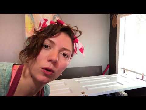 DIY LIKE A BOSS | How to paint a closet door