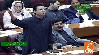 Federal Minister Murad Saeed Speech in National Assembly | 24 January 2019