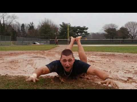 Chesapeake College Baseball Team Slip and Slide Field