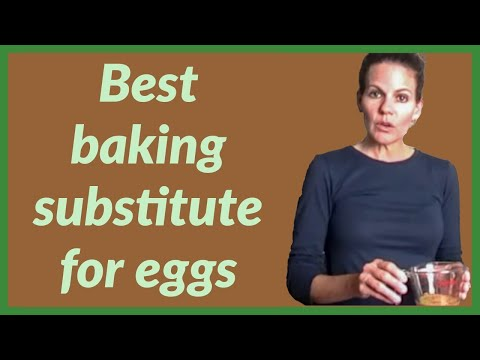 Best Baking Substitute for Eggs