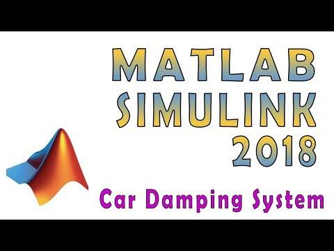 Matlab 2018 & Simulink: Build & Simulate Simulink Model For Simplified Motion of Car [Beginners]