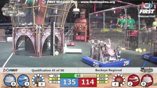 Qual 45 - 2017 Buckeye Regional