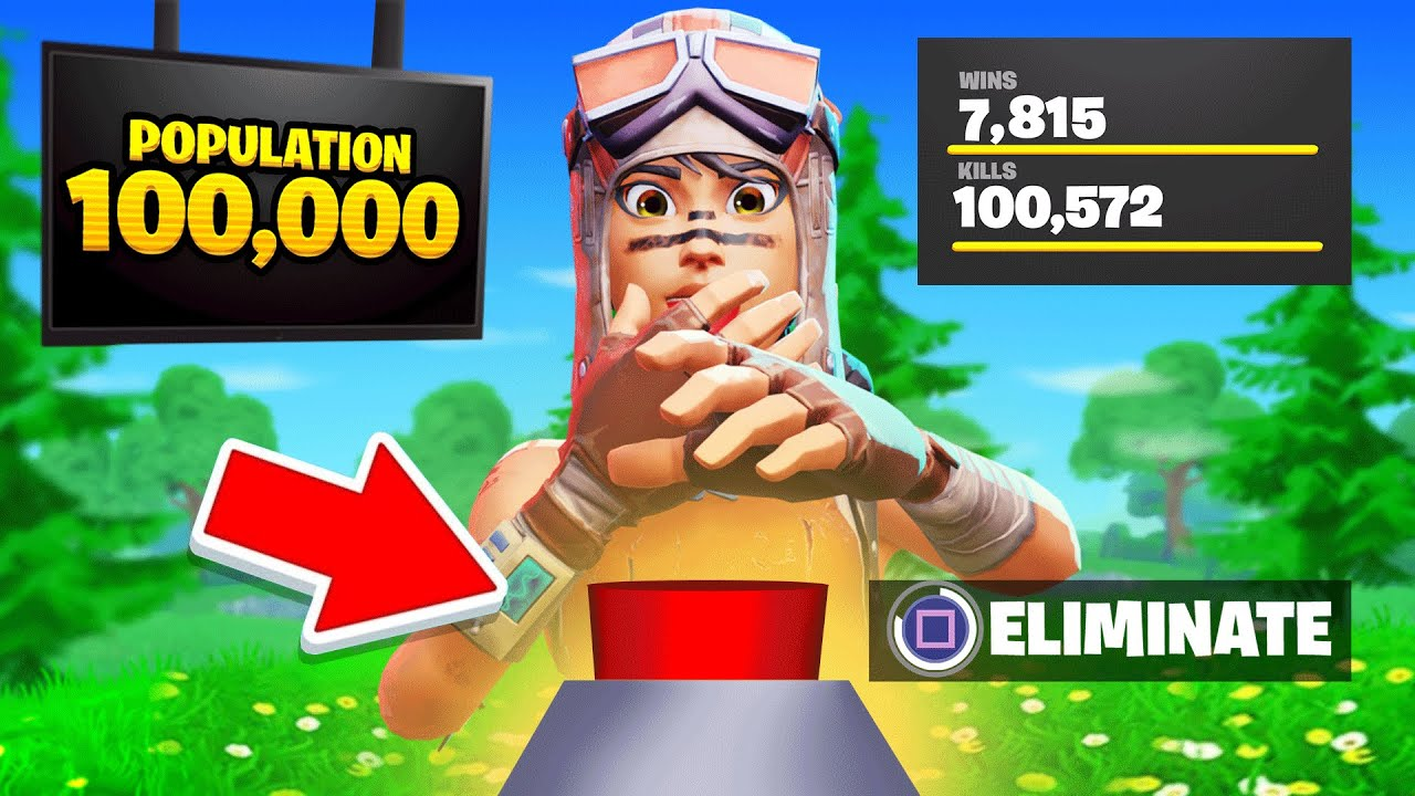 this is how i hit 100,000 eliminations in fortnite...
