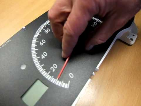 Replacing Speedometer Needle/Pointer