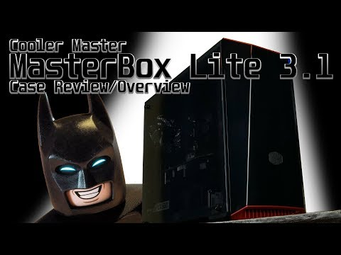 Cooler Master MasterBox Lite 3.1 Overview/Review - Micro ATX PC Case