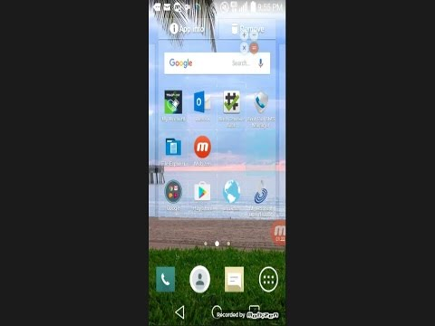 Android TracFone: How to Create and Delete Shortcut Icons