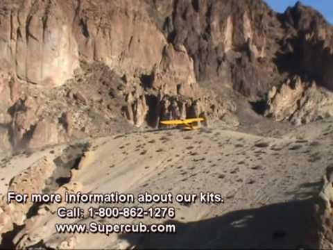 Super Cub Super Stunts & Amazing Idaho backcountry