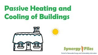 Passive Cooling and Heating of Building