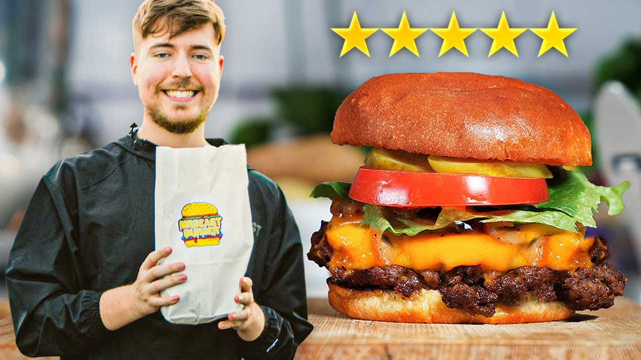 I Paid A Gourmet Chef To Remake The Mr.Beast Burger *5 STAR*