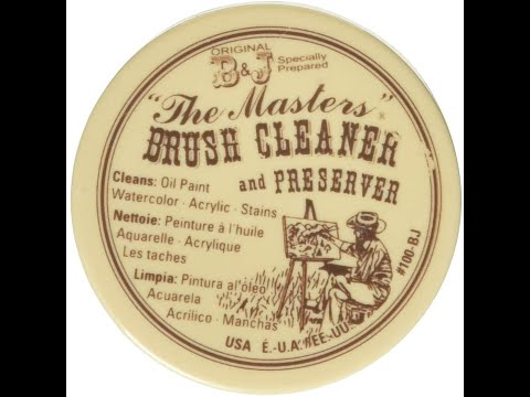 The Masters : Brush Cleaner & Preserver : Product Review  / Tutorial