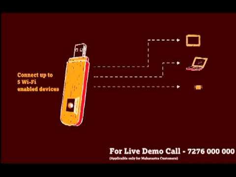 Introducing Tata DOCOMO Photon Max Wi-Fi Data Card