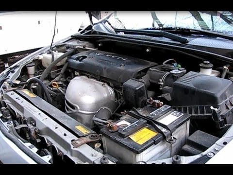 How to change the air filter,oil,oil filter and spark plugs on a 2005 Scion tc