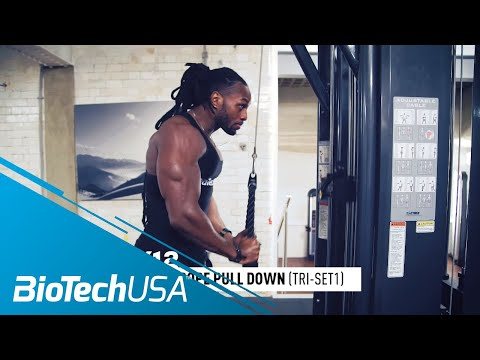 Triceps Workout for Definition - Daily Routione with Ulisses - BioTechUSA