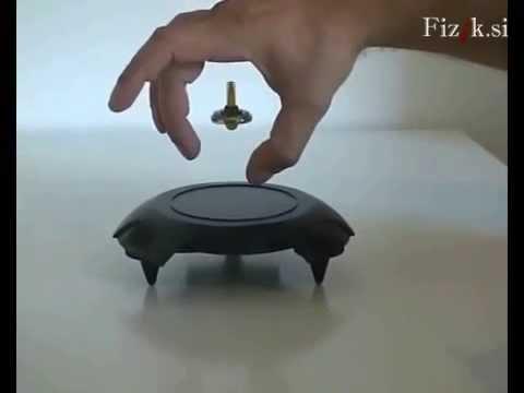 Magnetic levitation - Science experiment