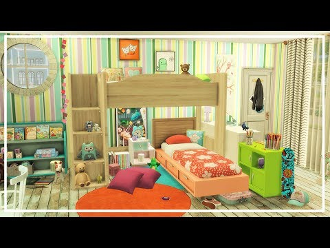 KIDS BEDROOM SIMS 4 | Room Build