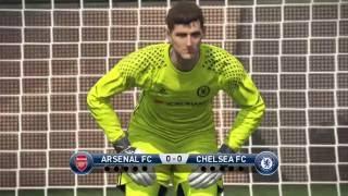 Pro Evolution Soccer 2017 - FA Cup Penalty Shootout - Chelsea vs. Arsenal