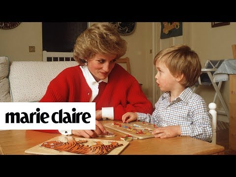 Once Princess Diana Invited a Group of Supermodels Over to Embarrass Prince William | Marie Claire