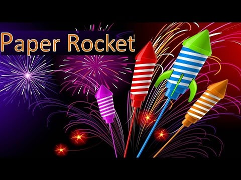 How To Make a Paper Rocket Launcher Home Made - Easy Real Rocket Tutorials - AwesomeDIYStuff