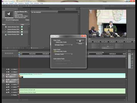 Premiere Pro: Two different ways of splitting a stereo track into dual mono