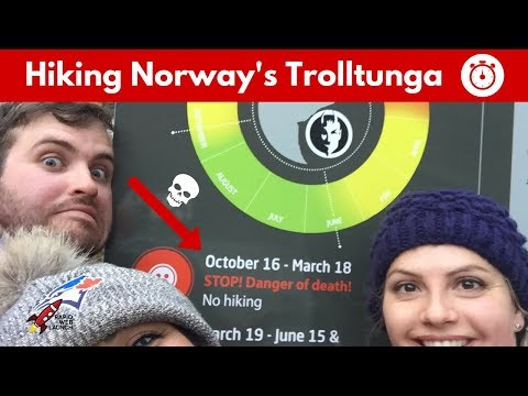 Hiking Norway's Spectacular Trolltunga (in 90 Seconds)