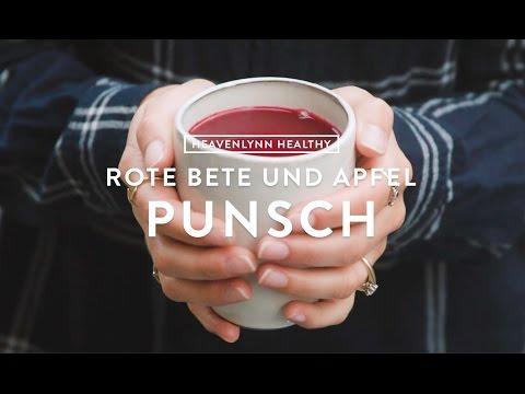 Rote Bete und Apfel Punsch | Heavenlynn Healthy für Kitchen Stories