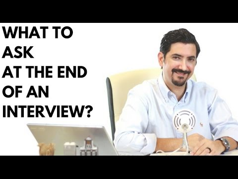 What To Say At The End of A Job Interview? (How To End The Interview) ✓