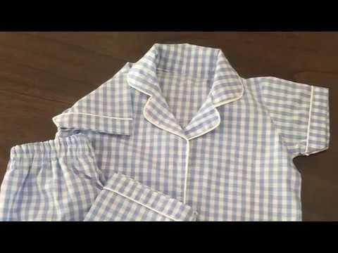 DIY Night Suit / pajamas for kids - Pattern Drafting, cutting & stitching- part 2
