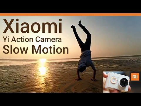 Xiaomi Yi Action Camera Slow Motion