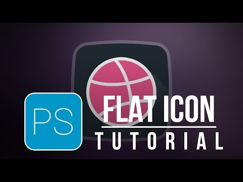 Create a flat icon in photoshop cs6 [tutorial]
