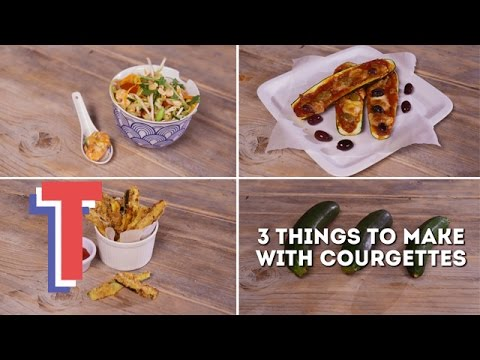 3 Things to Make With Courgettes | We Heart Food 2
